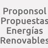 Proponsol. Propuestas Energías Renovables