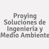 Proying Soluciones de Ingeniería y Medio Ambiente