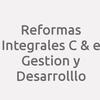 Reformas Integrales C & e Gestion y Desarrolllo