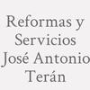 Reformas y Servicios José Antonio Terán