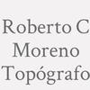Roberto C Moreno Topógrafo
