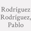 Rodríguez Rodríguez, Pablo