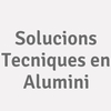 Solucions Tecniques En Alumini