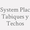 System Plac Tabiques y Techos
