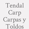 Tendal Carp  Carpas y Toldos