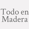 Todo En Madera