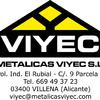 Metalicas Viyec Sl