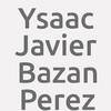 Ysaac Javier Bazan Perez