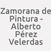 Zamorana de Pintura - Alberto Pérez Velerdas