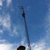 Desinstalar torreta de 10 metros y antena de hf