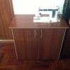 Mueble base para maquina coser antigua