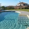 Suelo exterior de piscina