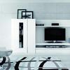 Vestir armario empotrado, de dos modulos 225x81.5 cada uno color blanco, tableros de melamina