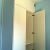Quiero montaje de estanterias modulos dos armarios pequeños dos comodas 3 cristales