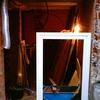 Repara yeso marco puerta