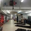 Pintar suelo taller mecánico