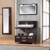 Instalar mueble de baño modificando tomas de agua