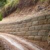 Construir muro de carambuco de hormigón