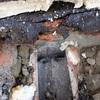Reparacion fuga agua calefaccion