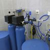 Descalcificador de agua de un piso