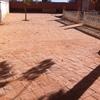 Cemento impreso en patio 50 m2