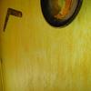 Estucado rustico de un salón.