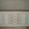 Pintar muebles salón estilo envejecido