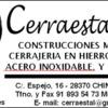 Cerraestal sl