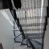 Obra Nueva. Suelo Y Escaleras De Interior De Hormigón O Cemento Pulido.