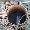 Hacer zanja exterior de drenaje