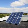 Placas solares para alimentar comedero
