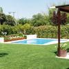Reforma de jardín con piscina
