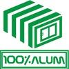 100x100 alum