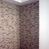 Alicatado de dos paredes con plaqueta entrelazada imitación piedra