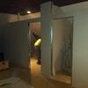 2 paredes de pladur, una con puerta