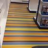Pulir suelo tienda electrodomesticos