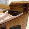 Construir pérgola con baño y tejadillo