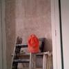 Picar dos paredes y enfoscar