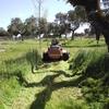 Limpia terreno de 1000 m²