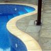 Cambiar piedra coronación piscina en la torre de la horadada
