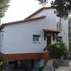 Pintura de fachada de una casa y parte del interior