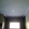 Reparar daños en yeso y pintura d techo baño