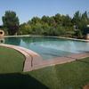 Hacer peldaños curvos en piscina 10x5