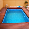 Colocación imitación gresite en piscina