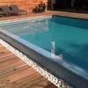 Construcción de piscina de obra con liner en coruña