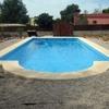Construir piscina prefabricada poliéster tipo romana.