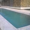 Alrededor de piscina