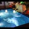 Construcción de piscina con sistema de nado contra corriente.