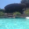 Montaje de piscina en domicilio particular