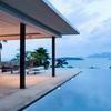 Construction piscina infinita